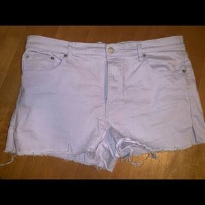 GAP Shorts - Purple Gap Shorts